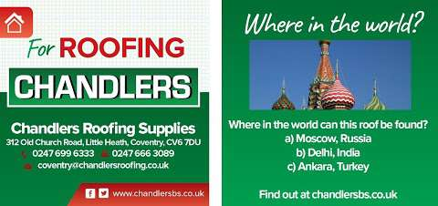 Chandlers Roofing Supplies At 16 Salamons Way Rainham England Rm13 9ul